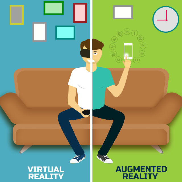 Augmented-reality-vs-virtual-reality