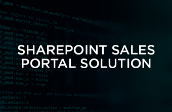 sharepoint-sales-portal-solution